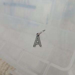 "PANDORA ""A"" Pendant"